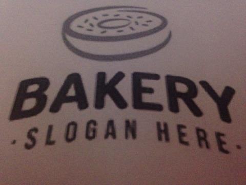 Ejemplo de logo para negocio de pastelería