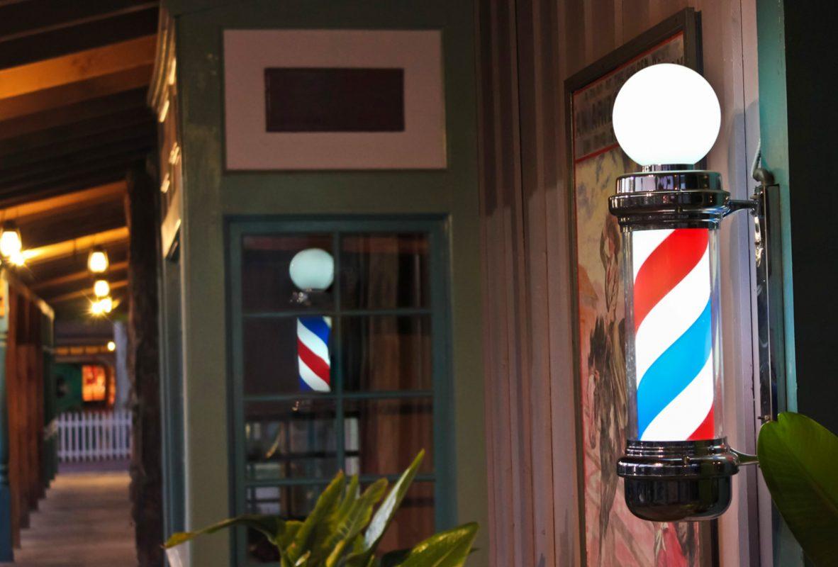 simbolo de barberia