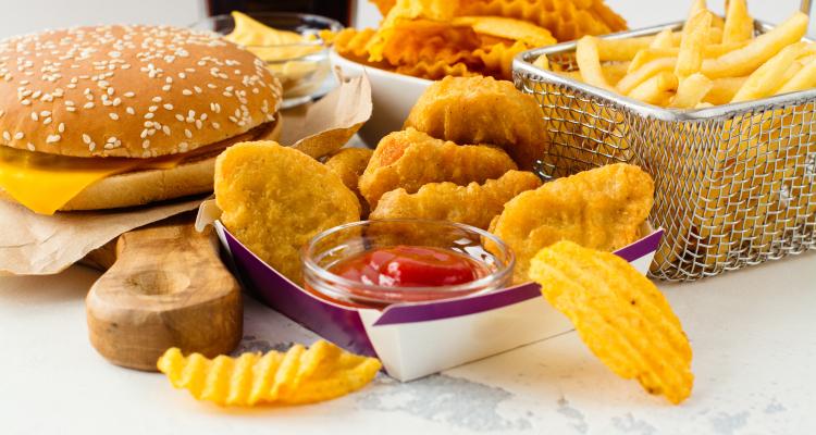 variedad de comida