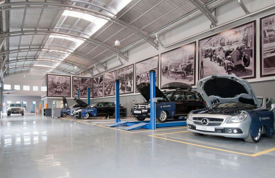 carros en taller