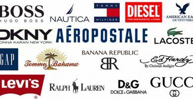 Nombres de marcas de ropa