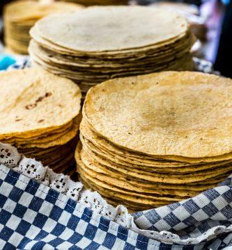 Tortillas en manta