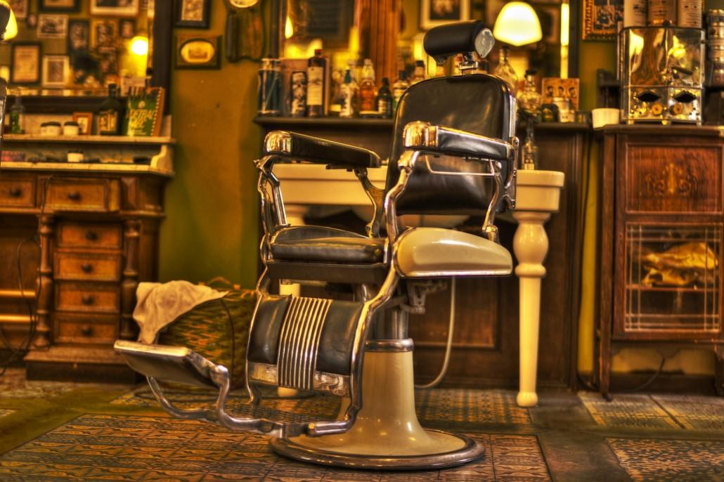 silla de barberos