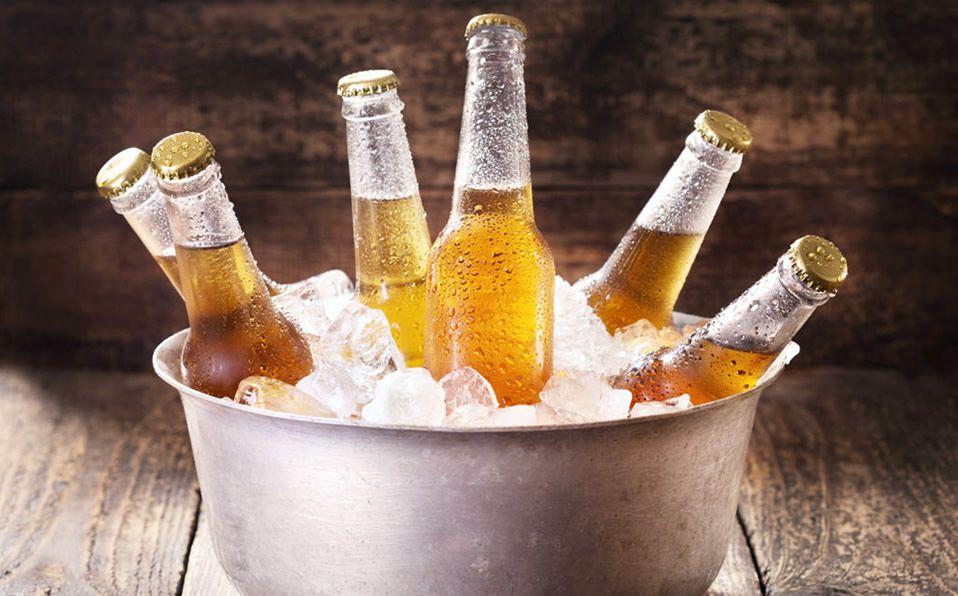 balde de cervezas